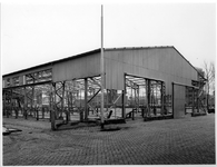 1974-1137-TM-1138 De Veemarkt. Van boven naar beneden afgebeeld:-1137: afbraak van de hallen op de Veemarkt.-1138: idem.