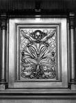 1974-866-TM-868 Interieurs van de Remonstrantse kerk aan de Mathenesserlaan.Afgebeeld van boven naar beneden:-866: ...