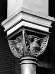 1974-872-EN-873 Interieurs van de Remonstrantse kerk aan de Mathenesserlaan.Afgebeeld van boven naar beneden:-872: ...