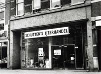 1976-1625 Nieuwe vestiging van de ijzerhandel Schutten's in het voormalige winkelpand van De Gruyter aan de Nieuwe ...