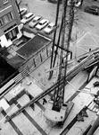 1976-79 Voorbereidingen tot de bouw van een transformatorhuisje op het parkeerterrein bij het derde depot, het ...