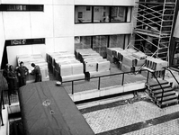 1976-96-TM-100 Werkzaamheden voor de installatie van airconditioning op het Gemeentearchief, tweede en derde ...