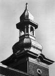 1976-970-EN-971 Kerktoren van de Paradijskerk aan de Nieuwe Binnenweg 23.Afgebeeld van boven naar beneden:-1-2