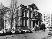 1977-403 Het Schielandshuis/Historisch Museum aan de Korte Hoogstraat.Links op de achtergrond het Erasmushuis ...