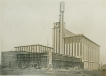 1986-146 Afbouw bijgebouw (kantoor) van de elektriciteitscentrale aan de Galileistraat.