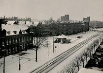 IX-1907-01 Gezicht op de Mathenesserlaan met op de achtergrond rechts het Mathenesserplein.