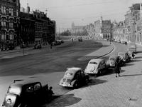 IX-1911-08 Gezicht op de Mathenesserlaan vanuit de Nieuwe Binnenweg, na de asfaltering.
