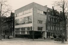 XIV-173-2 Mathenesserlaan met het bijkantoor van R. Mees en Zoonen aan de 's-Gravendijkwal.