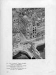 XIV-266-01 Luchtopname van kantoorgebouw Noordzee van firma F. & W. van Dam, makelaars in assurantiën, aan de Korte ...