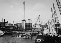 XV-234-05 De gedeeltelijk hernieuwde Electrische Centrale aan de Schiehaven.