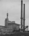 XV-56-00-01 Het gebouw van de elektriciteitscentrale aan de Galileistraat.