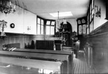 XX-62-02-2 Interieur de kerkzaal van het Israëlitisch Oudelieden gesticht aan de Claes de Vrieselaan.
