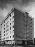 XXIV-38-00-03-02 Het Savoy hotel aan de Hoogstraat, rechts de Kipstraat.