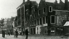 XXV-220 Panden hoek Goudsesingel - Heerenstraat kort voor de sloop.
