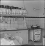3837 De keuken van een gerenoveerde woning aan de Bergweg.