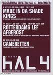 148 Maand Agenda december 2005.Made in da shade kings.Rotterdams Lef afgerost.Cameretten.