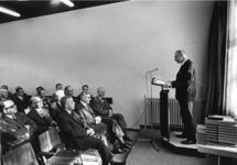 1967-575 Toespraak van de gemeentearchivaris drs. R.A.D. Renting ter gelegenheid van de uitbreiding van het gebouw van ...