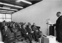 1967-576 Toespraak van de gemeentearchivaris drs. R.A.D. Renting ter gelegenheid van de uitbreiding van het gebouw van ...