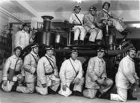 1968-226 Jubileum van college van vrijwillige brandmeesters, het college bestaat 100 jaar.