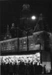 1968-428 Tijdens de opening van de metro, Coolsingel met kermis bij het stadhuis. Gezien uit het zuidwesten.