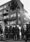 1989-2108 Twee etage's van een pand aan de Dordtselaan zijn volledig uitgebrand.