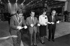 1991-2255 Burgemeester Peper, ambassadeur Youn Uk Sup, mevr.Y. van Rooy, staatssecretaris van Economische zaken en dr. ...
