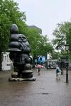 173 Santa Claus, alias Kabouter Buttplug op het Eendrachtsplein.