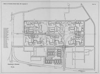 1968-1187 Kaart van Ommoord met vermelding van straatnamen (14 t/m 36)