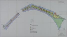 1968-1208 Plattegrond van de Maasboulevard en omgeving