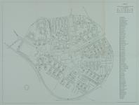 1968-1215 Plattegrond van Lombardijen met aanduiding van de straatnamen