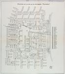 1968-1223A Plattegrond van de wijk Meeuwenplaat in Hoogvliet met aanduiding van de straatnamen