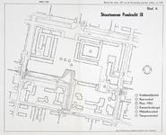1968-1225 Plattegrond van het centrum van Pendrecht: Plein 1953 en omgeving , met aanduiding van de straatnamen