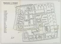 1968-1229 Plattegrond van Zalmplaat in Hoogvliet met aanduiding van de straatnamen
