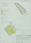 1968-1239-II Plattegrond van het wederopbouwplan Kleinpolder. Het afgebeelde gebieden worden begrensd door de ...