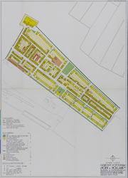 1968-1243 Plattegrond van een uitbreidingsplan te Hoek van Holland