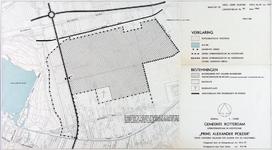 1968-1254 Kaart van bouwpercelen in het Lage Land, gelegen ten zuiden van de Hoofdweg