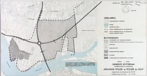 1968-1256 Kaart van het uitbreidingsplan Kralingse Polder en polder De Esch