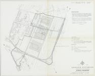 1968-1264 Plattegrond van Kralingen-Oost. Het afgebeelde gebied wordt begrensd door Rijksweg 16, de Kralingseweg, de ...