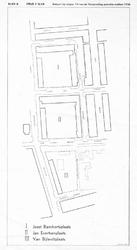 1968-1267 Plattegrond van nieuwe straten in het centrum van Rotterdam [Cool].