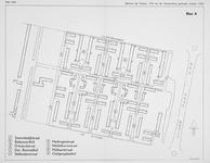 1968-1272 Kaart van een deel van Pendrecht, met vermelding van de straatnamen. Blad A. Het afgebeelde gebied wordt ...