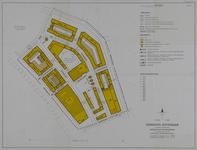 1968-1281 Plattegrond van de Pannekoekstraat en omgeving. Het afgebeelde gebied wordt begrensd door de Binnenrotte, ...
