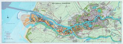 1968-1361-1 Kaart van Rotterdam met het Europoortgebied