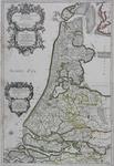 1969-1130-2 Kaart van het zuidelijke deel van het graafschap Holland.