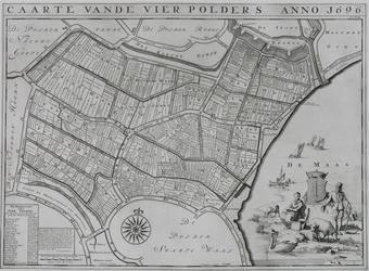 1969-1254 Kaart van polders gelegen tussen Brielle en Zwartewaal [facsimile]