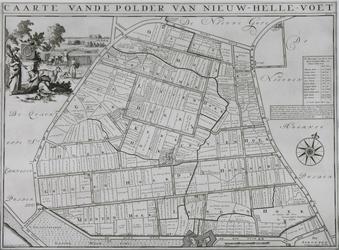 1969-1255 Kaart van de polder Nieuw-Hellevoetsluis [facsimile]
