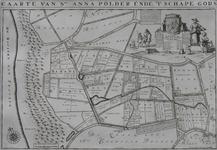 1969-1258 Kaart van de Sint-Annapolder het het Schapengors