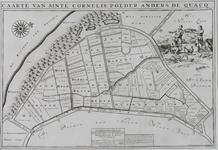 1969-1259 Kaart van de Quackpolder, ten zuiden van Rockanje [facsimile]
