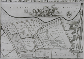 1969-1260 Kaart van de polder Oude en Nieuwe Struiten