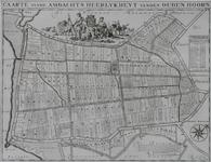 1969-1261 Kaart van de ambachtsheerlijkheid Oudenhoorn