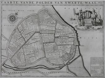 1969-1262 Kaart van de polder van Zwartewaal